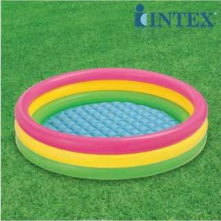 Intex 3 Ring Inflatable Swimming Pool