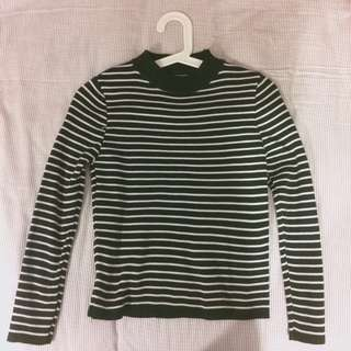 Striped sweater/pullover