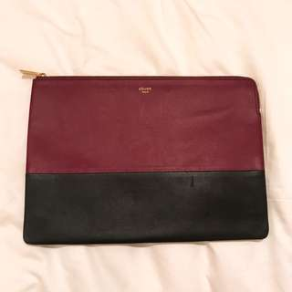 CELINE clutch pouch