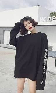 👚ulzzang long sleeve top👚