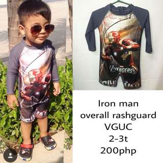 Iron Man Rashguard