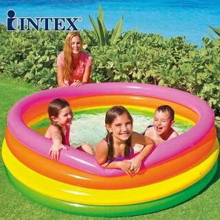 4 Ring Inflatable Swimming Pool
