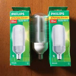 Philips 18W SL-Prismatic Energy Saving Light Bulb
