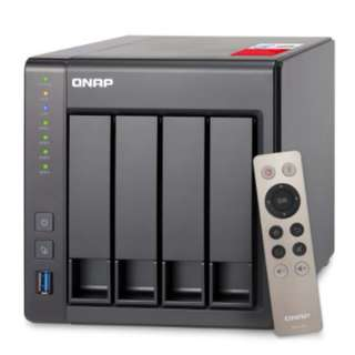 QNAP TS-451+ (8GB RAM version) 4-Bay Next Gen Personal Cloud NAS Intel 2.0GHz Quad-Core CPU
