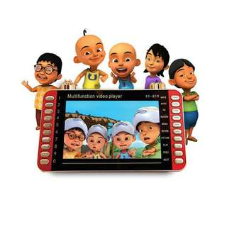 Multifunction video player 7.0'' learning for kids