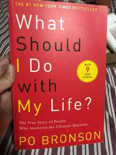 What Should I do with My Life by Po Bronson