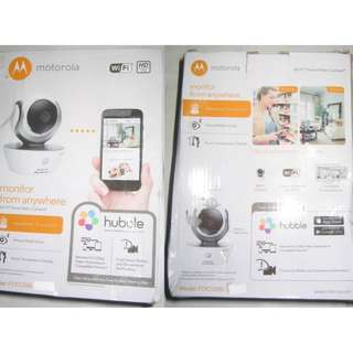 Motorola Focus 85 IP WiFi Camera . Use Hubble app to set up and view