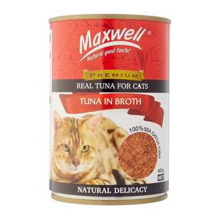 Maxwell Canned Cat Food - Tuna in Broth