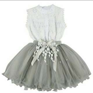 Little girl's shirt &Tulle skirt(3-9 years)
