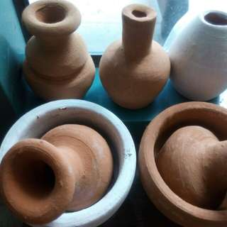 Mini Terracotta Jars