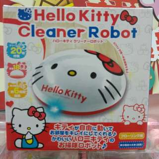 Hello kitty 自動吸塵機