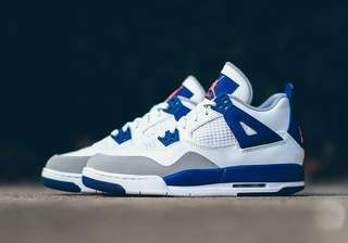 "Air Jordan 4 Retro GG (GS) ""Knicks"""