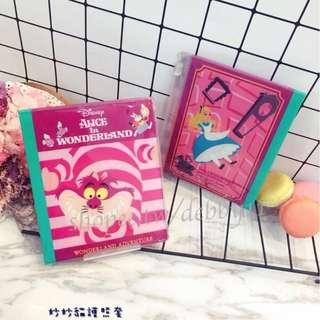 妙妙貓愛麗絲護照套 迪士尼 護照夾 護照保護套 防水 旅行必備 妙妙貓 愛麗絲 愛麗絲夢遊仙境