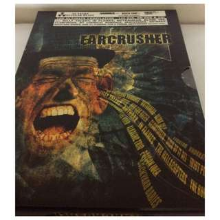 NM Earache ear crusher dvd various metal clearance
