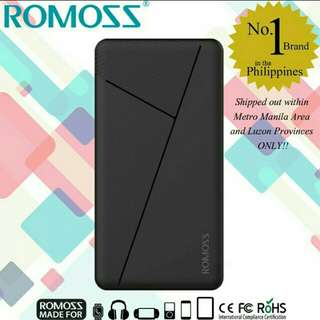 Romoss 10000mAh Powerbank (Original)