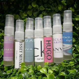 25% Oil based Perfumes in 10ml
