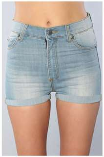 Cheap Monday Denim Shorts 28