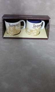 Starbucks mini mug, Taiwan & Taipei