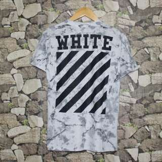 OFF WHITE MARBLE TSHIRT