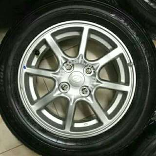 Rim bezza and tyre for sell