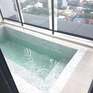 3 BR w/ Private Pool Milano Residences Versace Makati Staycation