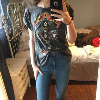 Topshop Guns N Roses Band T