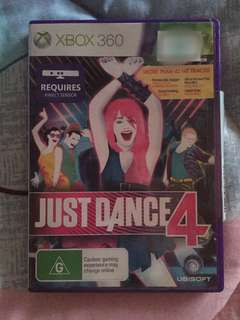 Just Dance 4 for Xbox 360 w/ Kinect