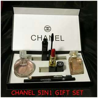 CHANEL 5IN1 GIFT SET