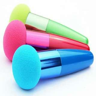 PO Lollipop Sponge Foundation Liquid Make Up Brush
