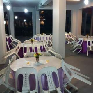Mini Event Renting Chair Table & Skirting