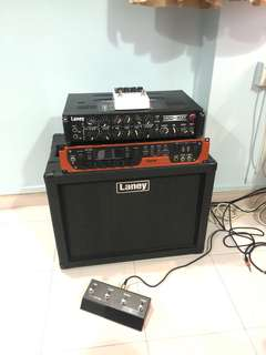 Laney ironheart studio w cab