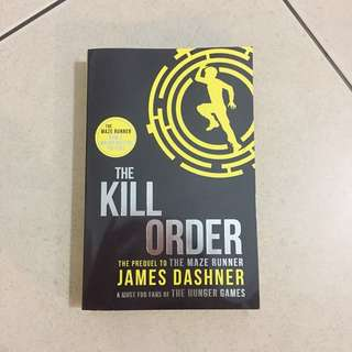 The kill order ( pre loved )