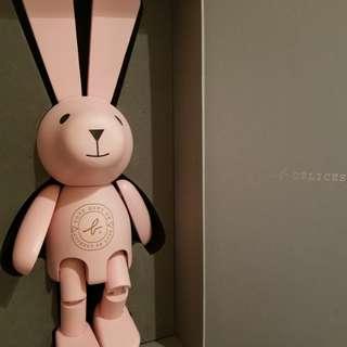 "Agnes b. Delice 13"" 高極罕有,超可愛原隻實本製,粉紅兔"
