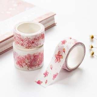 [Washi Tape] Pink Sakura Blossoms