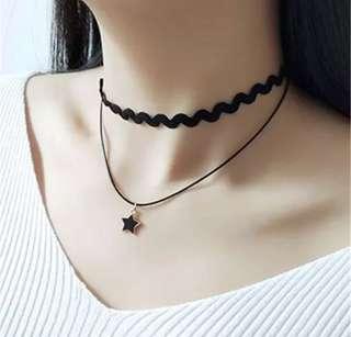 黑色風格頸鏈