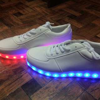 LED White Shoes