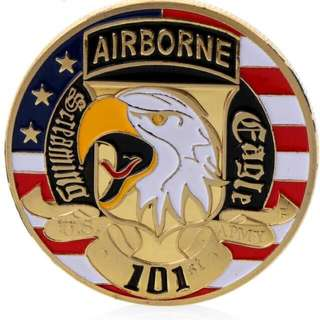 101st Airborne US Medal Coin 5 Pieces Only Available