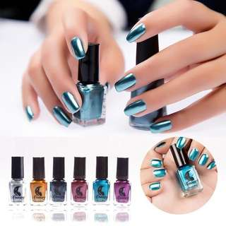 Metallic Chrome Nail Polish 6ml ~BEAU~