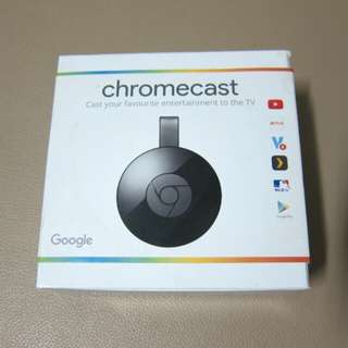 全新未開 Google Chromecast