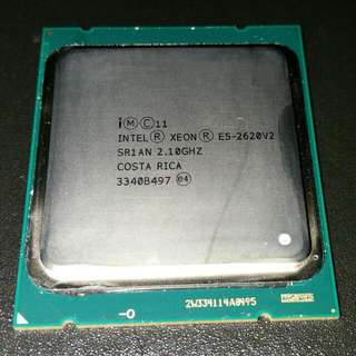Intel Xeon E5-2620 V2 2.10Ghz Workstation Or Server Processor