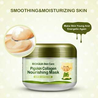 PO Bioaqua Pig Skin Collagen Nourishing Mask