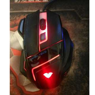 AULA GHOST SHARK Optical Wired Gaming Mouse -Free Gaming Pad