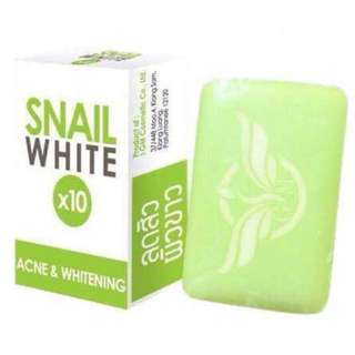Snail White 10x Acne & Whitening Soap