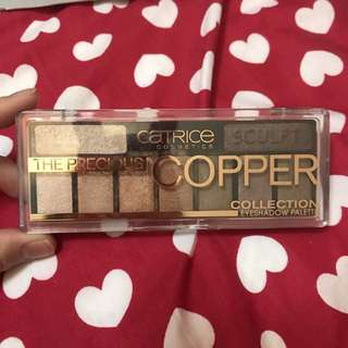 Copper collection catrice eyeshadow palettes