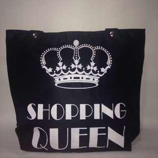 Shoulder bag/tote bag wanita/tas kuliah/tas kerja hitam shopping
