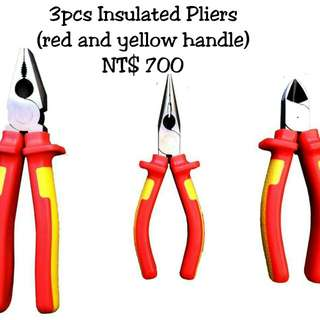 🚚 3pcs. Insulated Pliers
