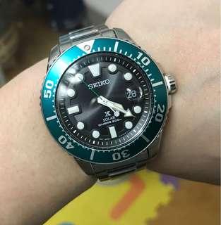 90%NEW 絕版罕有 SEIKO SNE451P1 全球限量2500隻 淨錶 詳細規格請看附圖 $2800