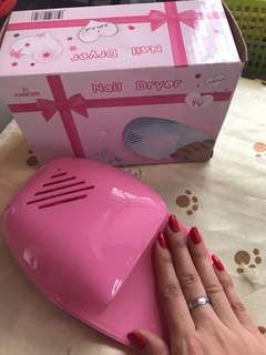 Nail dryer pink