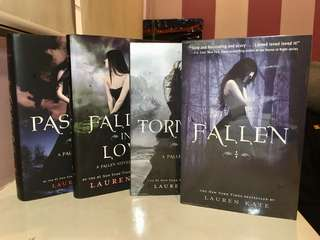 Fallen Series by Lauren Kate (Fallen, Torment, Passion, Fallen in Love)