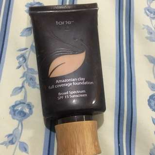 Tarte Amazonian Clay full coverage foundation in Medium Honey